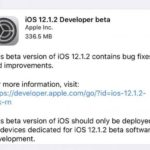 Apple pushed developers to the first developer beta of iOS 12.1.2 early this morning.