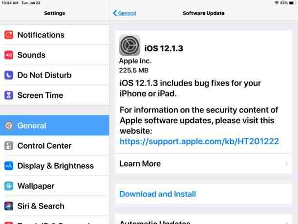 Apple is now rolling out the official version of iOS 12 1 3