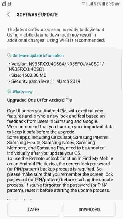 Samsung Galaxy Note FE pushes One UI update – GADGETALERTS