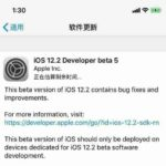 Apple iOS 12.2 preview version of Beta 5 now rolling out