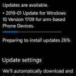 Windows 10 Mobile pushes April cumulative update