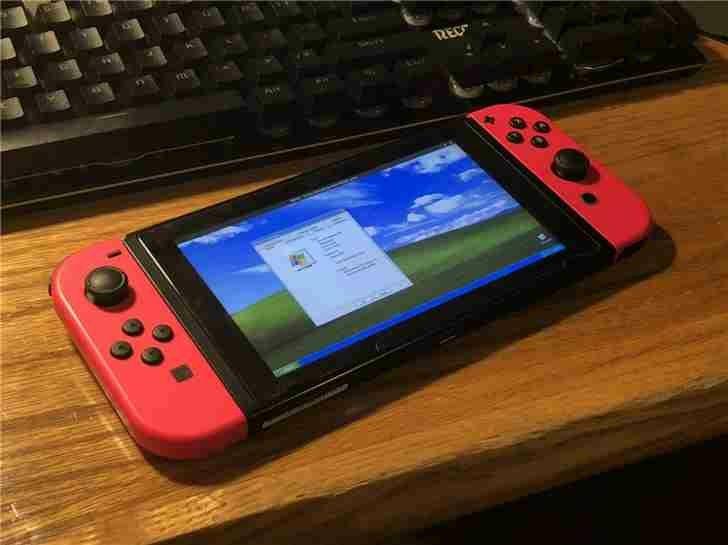 Nintendo Switch successfully runs Windows XP – GADGETALERTS